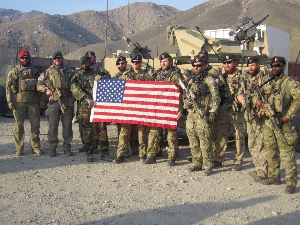 3rd Special Forces Group soldiers in Afghanistan